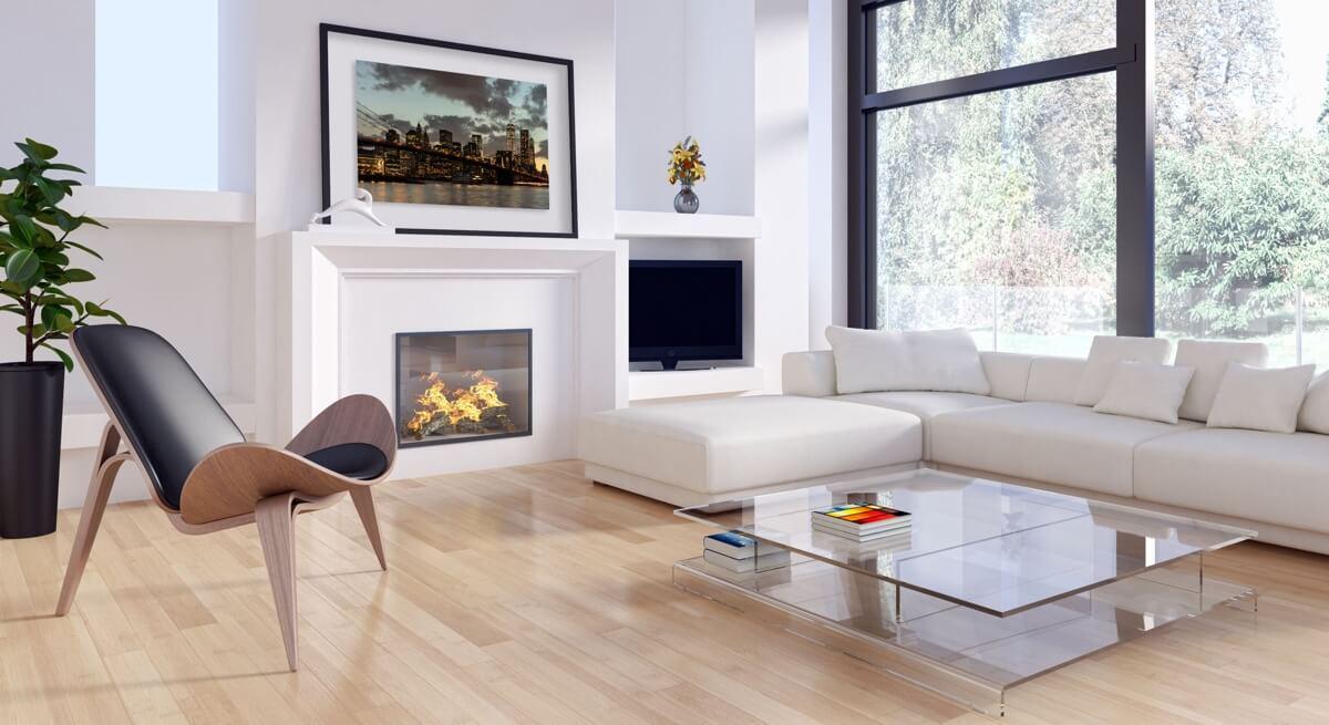 Dekorative Fotokunst im Wohnraum