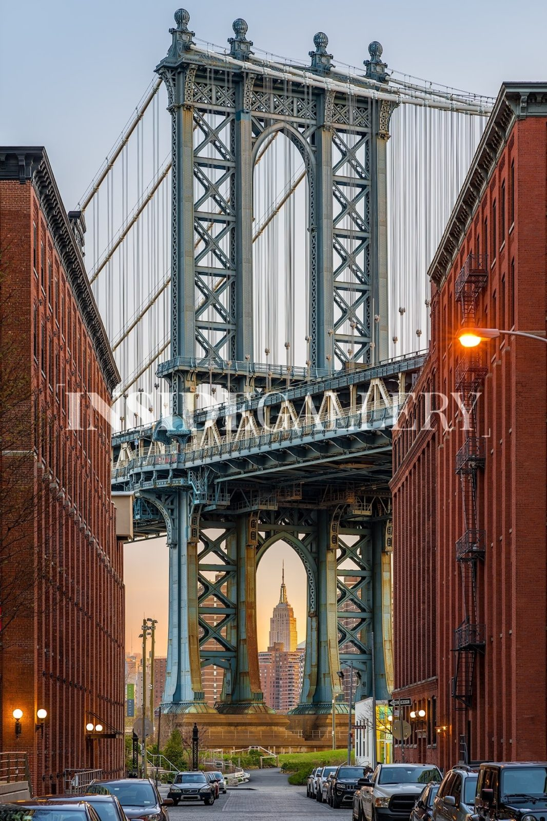 Fine Art Photography Empire Manhattan Bridge Inside Gallery